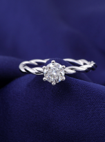 Classic twist solitaire engagement ring (10)