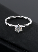 Classic twist solitaire engagement ring (11)