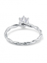 Classic twist solitaire engagement ring (3)