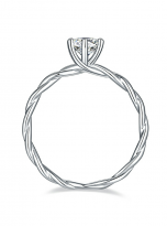 Classic twist solitaire engagement ring (4)