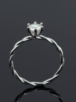 Classic twist solitaire engagement ring (7)