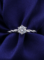 Classic twist solitaire engagement ring (8)