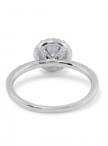 Elegant engagement ring featuring a tight halo (3)