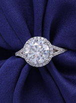 Halo engagement ring with a split shank (6)